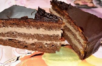 Торт «ПРАГА» по ГОСТу