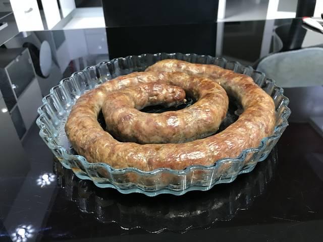 Домашняя рубленая колбаса