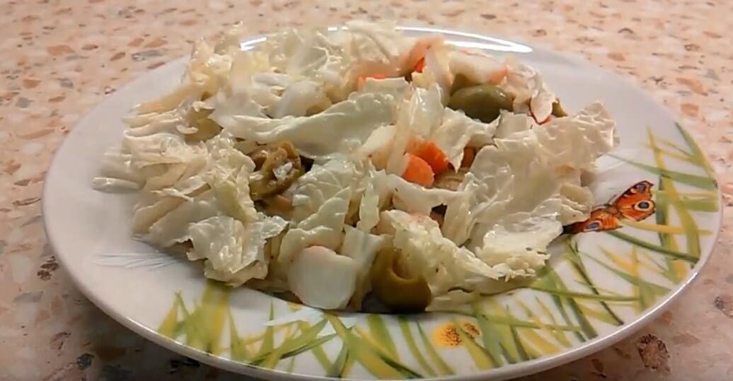 Салаты из пекинской капусты — 11 красивых и очень вкусных рецептов
