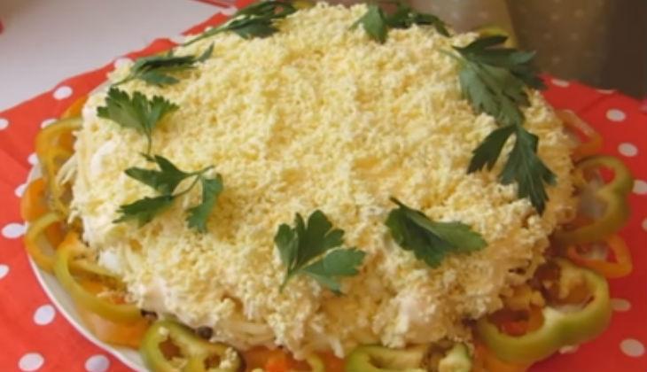 Вкусный и нежный салат «Мимоза», классический пошаговый рецепт с рыбными консервами
