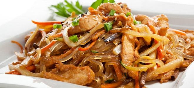 Курица по китайски — рецепты с овощами, лапшой, рисом, ананасами и арахисом
