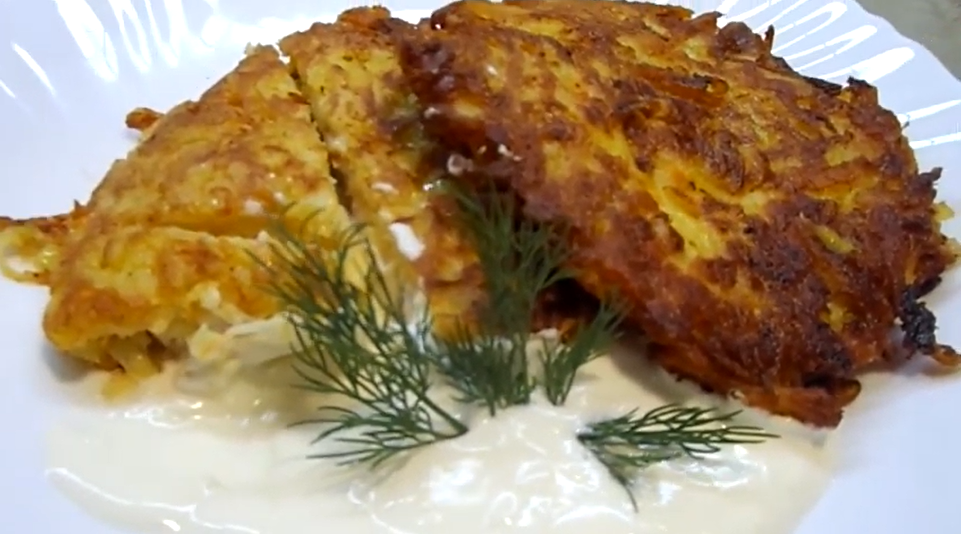 Драники с начинкой очень просто создать вкуснейшее блюдо дома