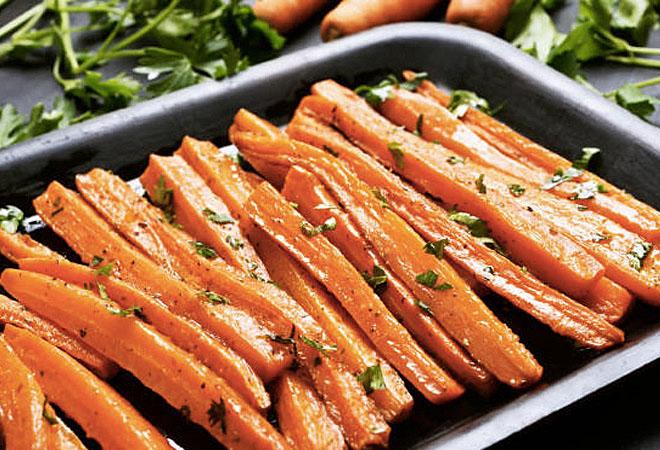 Запекаем морковь и наслаждаемся вкусом