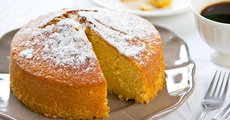 Нежный апельсиновый пирог без грамма масла