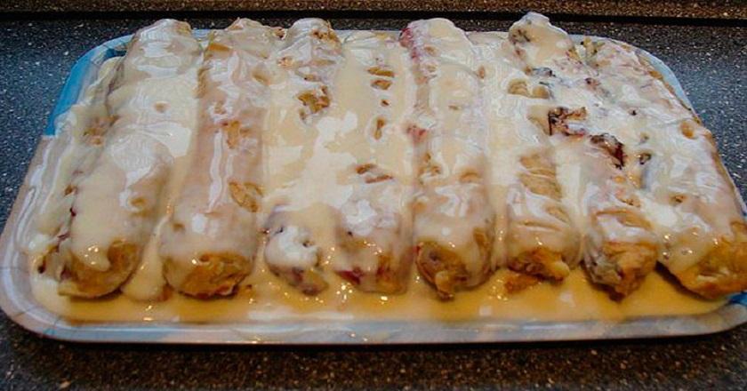 Как приготовить десерт за 30 минут. Рецепт превосходных вишневых трубочек.