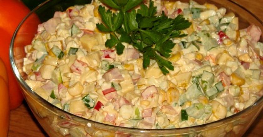 Способ приготовления легкого и сытного салата «Аленушка»: сказочное наслаждение в каждой ложке
