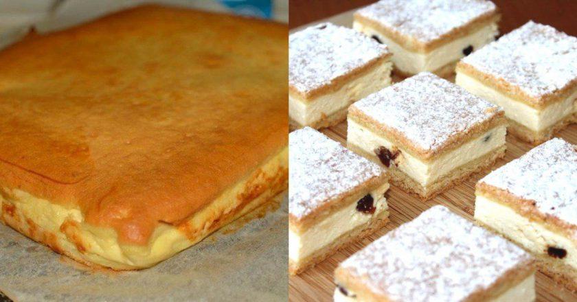 Наливной творожный пирог: к празднику и к рядовому чаепитию. Рецепт для новичков!