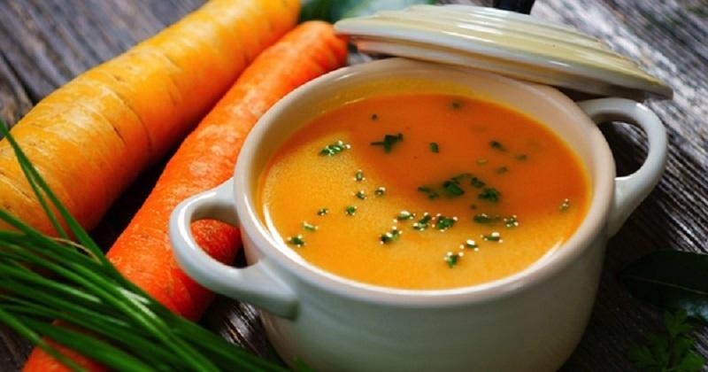 Варю суп на ужин и доедаю за завтраком: «Осеннее блаженство». Ароматное и необычное блюдо.