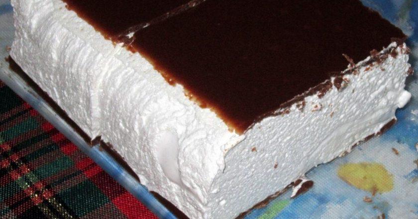 Торт «Птичье молоко», нежный и вкусный, как в детстве! Моя бабушка готовила так.