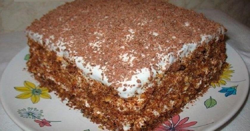 Восхитительный торт «Мечта жизни»: очень простой кулинарный рецепт