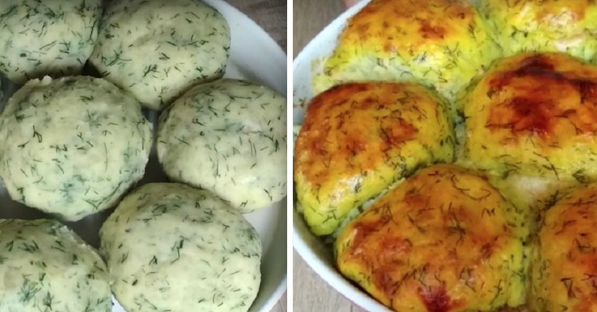Картофельные зразы в духовке: сочная начинка в самом мягком и нежном пюре