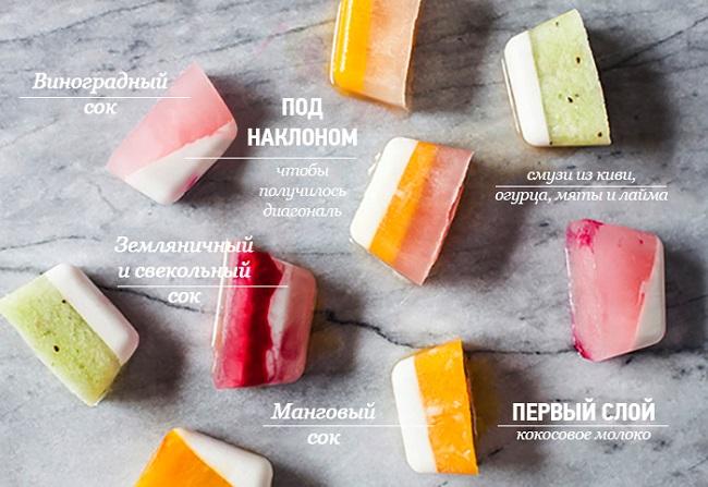 19 необычайно крутых способов использовать формочки для льда