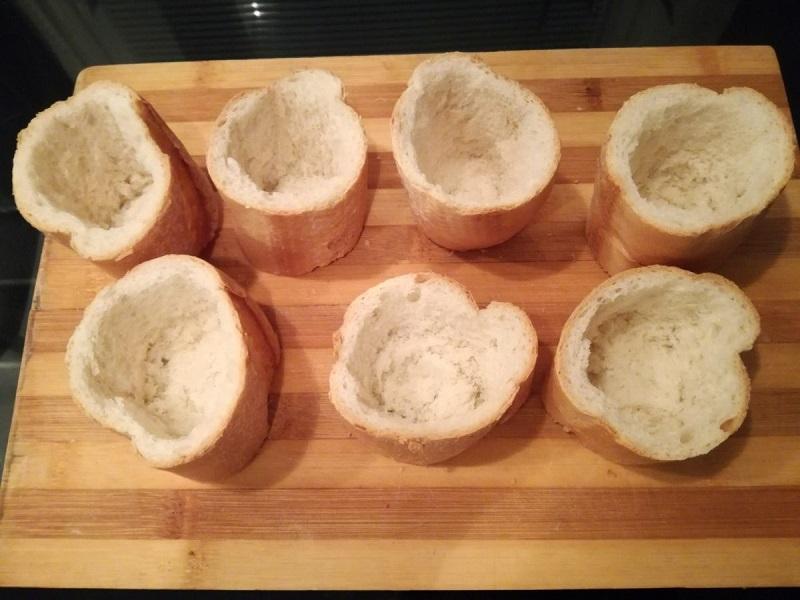 Рецепт быстрых пирожков из багета. Объедение!
