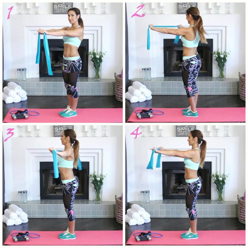 Как за 7 минут в день убрать складки со спины: 4 простых и эффективных упражнения