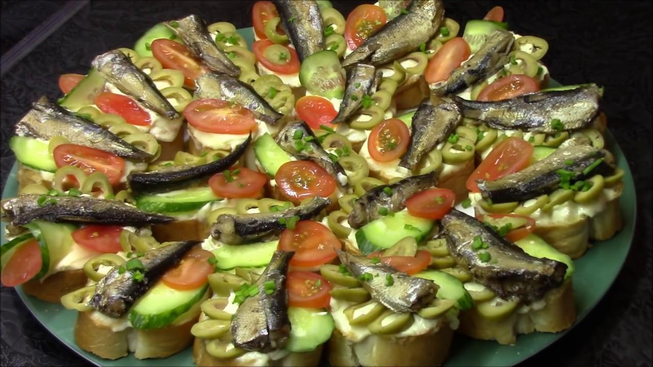 Бутерброды со шпротами — 13 рецептов приготовления на праздничный стол