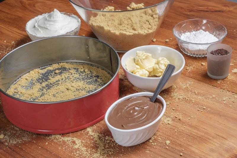 Рецепт торта без муки и без выпечки