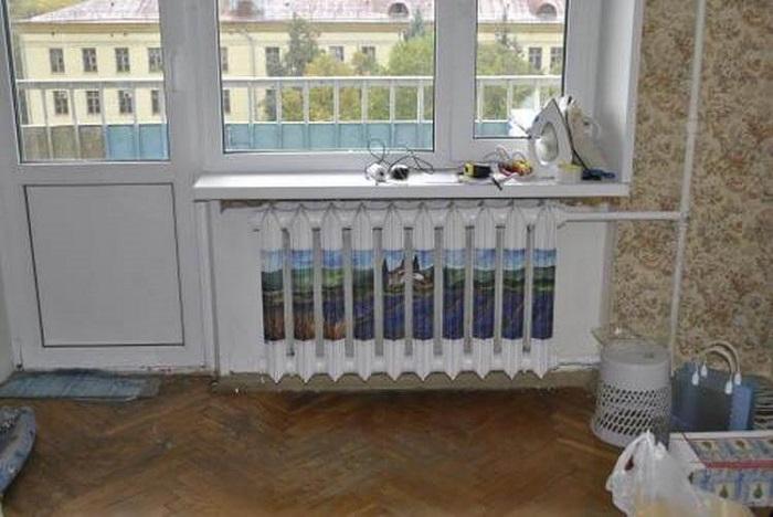 Как придать старому радиатору элегантный вид