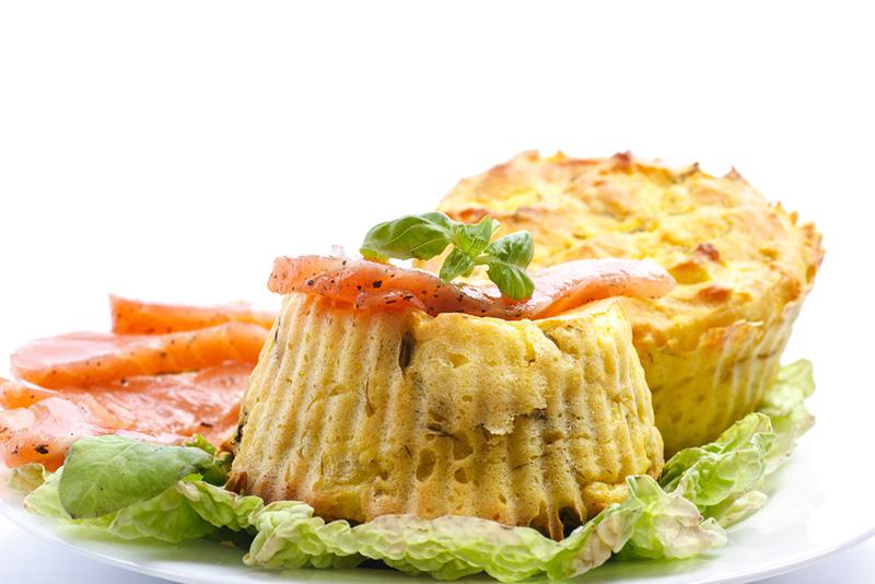 Диетическое блюдо для завтрака, перекуса и прекрасной формы.
