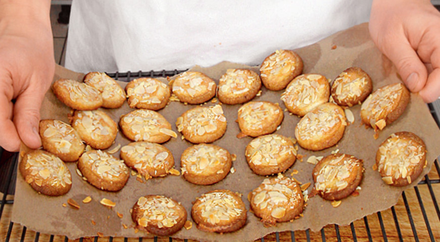 Лимонное печенье с миндалем попробуй - невозможно 100% оторваться
