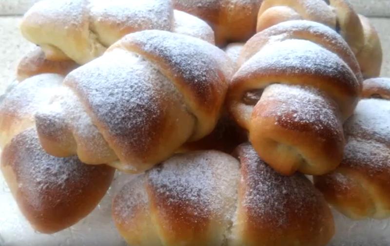 Мамины плюшки-завитушки с сахарными складочками мягкие, как пуховые подушки!