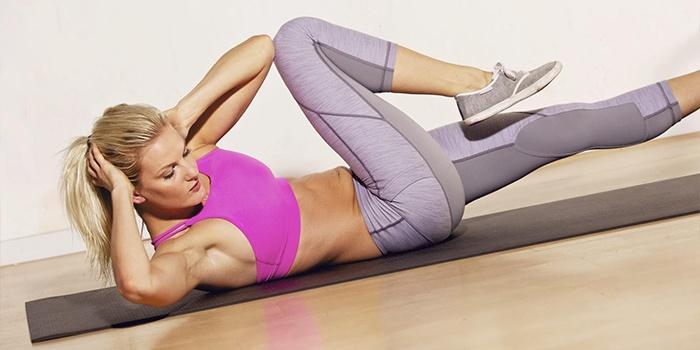 Как подтянуть живот после родов - программа тренировки для молодых мам!