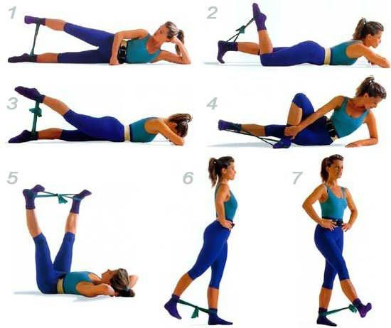 30 Упражнений На Каждый День Месяца Для Стройных Ног!