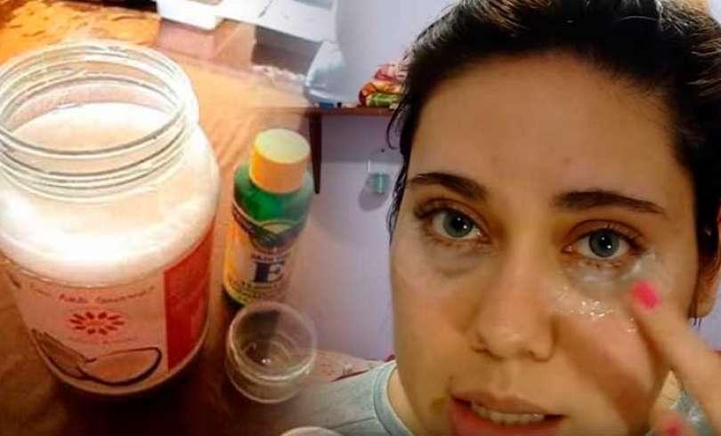 Я чувствую себя на 5 лет моложе - крем для глаз из 3 ингредиентов: это стирает морщины будто ластик!