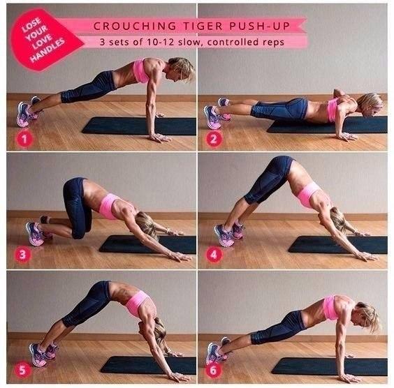 Комплекс упражнений для похудения!