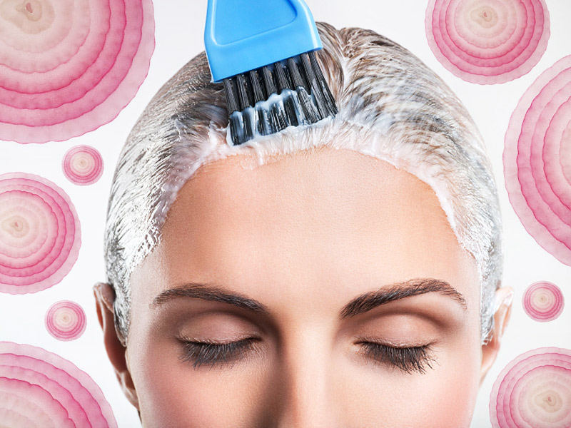 Как лук способствует росту волос? Рецепт маски внутри!