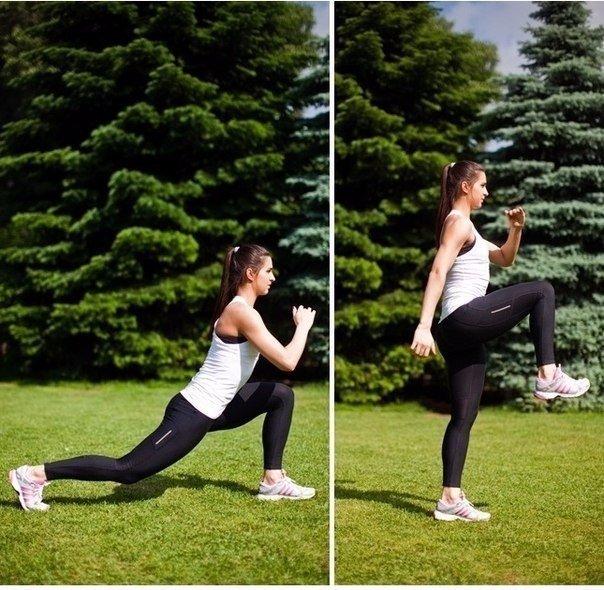 Подтягиваем ягодицы, укрепляем бедра: 8 эффективный упражнений