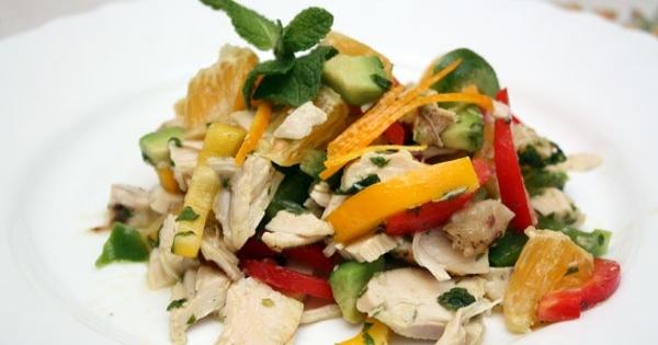 Диетичексий салат — вкусно и полезно! на 100грамм — 122.08 ккал