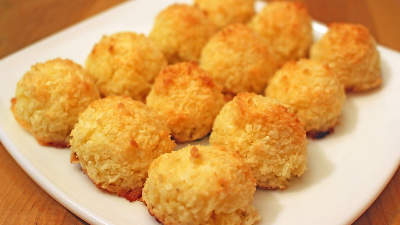 Кокосовое печенье без муки, жира и яиц! На 100 грамм 126 ккал!