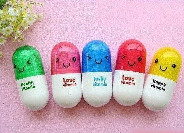 Азбука витаминов для красоты и здоровья!