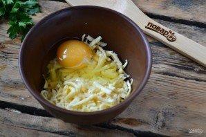 Слюни литрами текут! Запеканка из тертого картофеля с сыром и чесноком